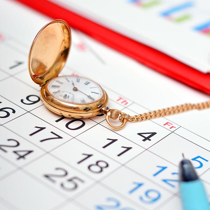 1日&1か月のスケジュール